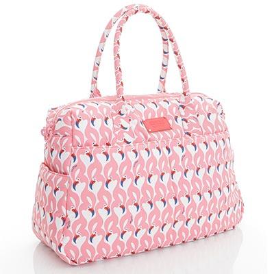VOVAROVA空氣包-波士頓包-粉粉紅鶴