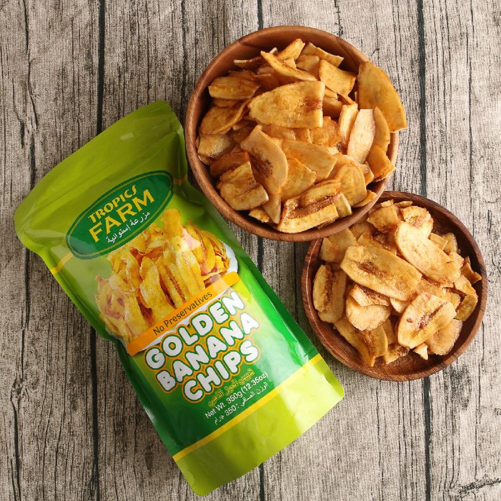 TROPICS FARM 香蕉脆片(350g)