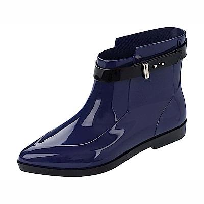 MELISSA+吳季剛合作款短筒雨靴-寶藍