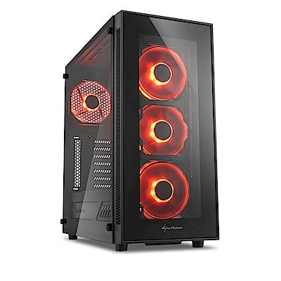 (無卡分期12期)微星H370平台【天秤騎士】i7六核GTX1080獨顯SSD電玩機