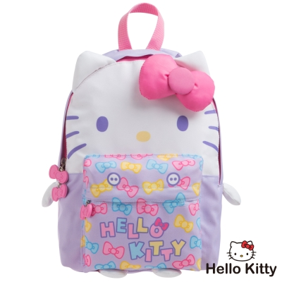 Hello Kitty KTQ版娃娃後背包-紫色KT02B01PL