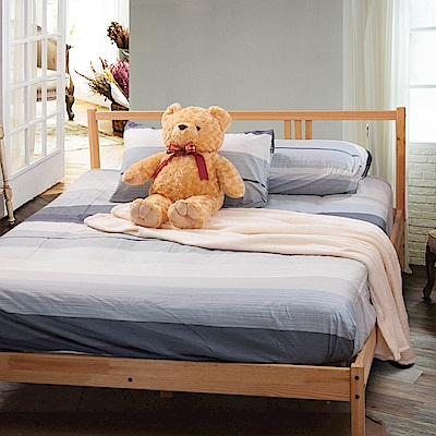 Carolan-時尚品味 單人床包枕套組
