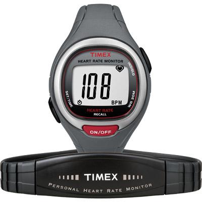 TIMEX 鐵人系列鍛鍊計畫心跳腕錶-灰/37mm