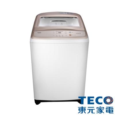 [無卡分期12期]TECO東元13Kg超音波定頻洗衣機W1308UW