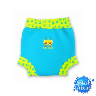 《Splash About 潑寶》游泳尿布褲 - 水藍 / 水族剪影