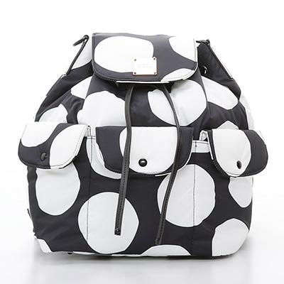 VOVAROVA空氣包-百寶袋後背包-波卡圓點-黑