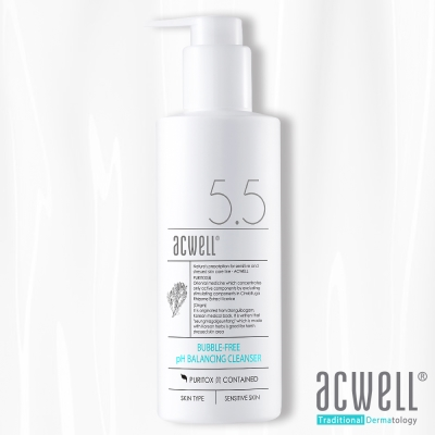 ACWELL艾珂薇 NO5.5無泡深層極緻保濕舒緩卸妝潔面乳150ml