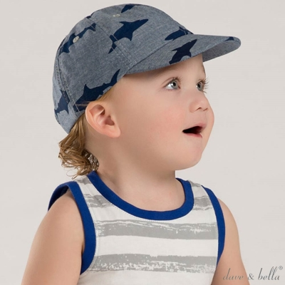 Dave-Bella-鯊魚丹寧棒球帽