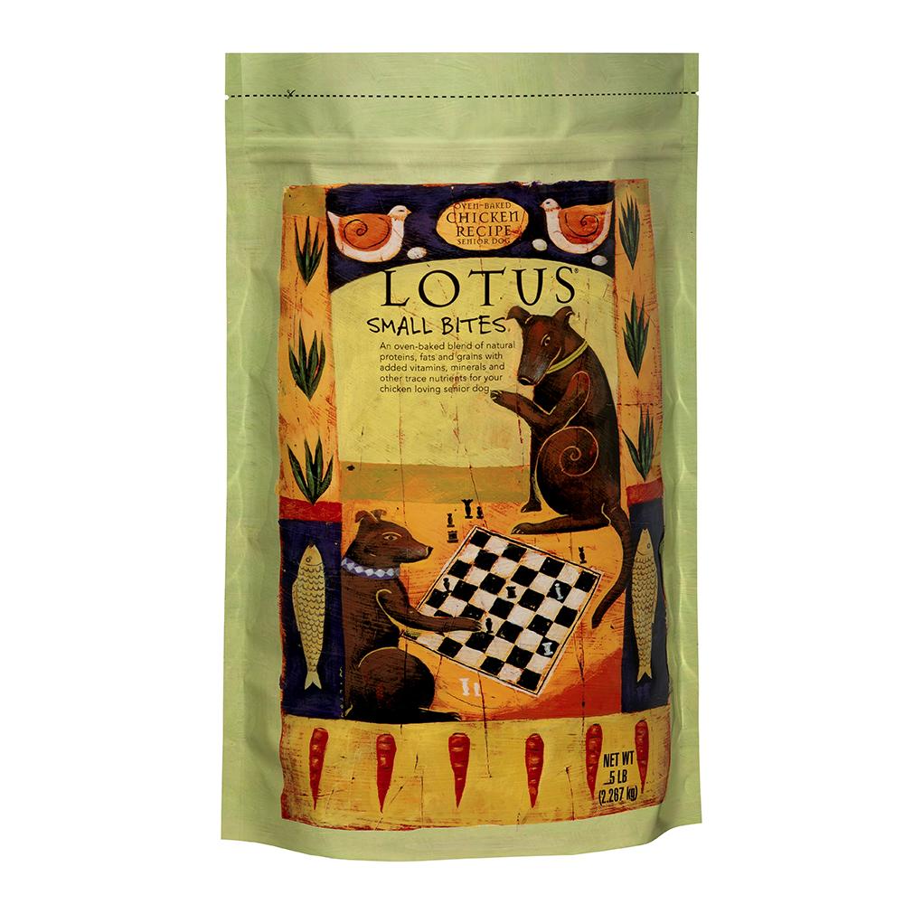 LOTUS樂特斯 養生鮮雞佐沙丁魚-高齡/肥胖犬-12.5磅(中顆粒)