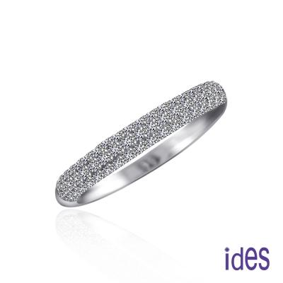 ides 愛蒂思 品牌設計款鑽石戒指/線戒