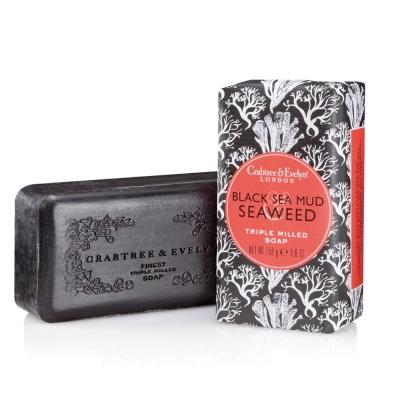 Crabtree & Evelyn瑰珀翠 黑海深海泥與海藻柔嫩皂158g
