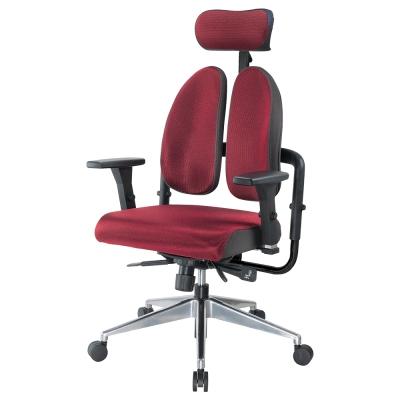 Bernice-德國專利雙背多機能雙色電腦椅-70x70x116~123cm