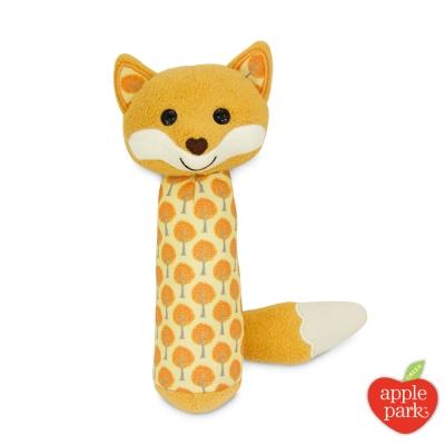 美國 Apple Park 有機棉安撫啾啾棒 - 森林狐狸