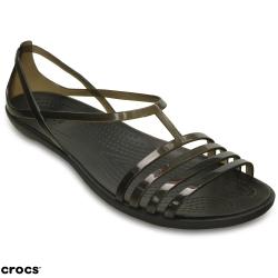 Crocs卡駱馳(女) 伊莎貝拉夏日涼鞋-202465-001