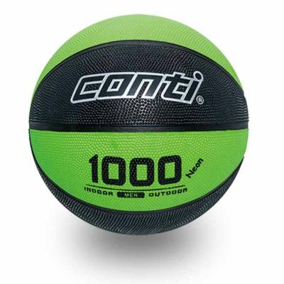 CONTI 1000螢光系列 7號螢光橡膠籃球