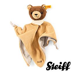 STEIFF德國金耳釦泰迪熊 -  Basti Bear (嬰幼兒安撫巾)