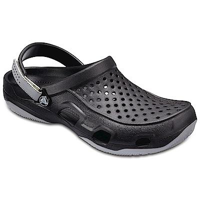 Crocs 卡駱馳 (男鞋) 激浪男士克駱格 203981-02G