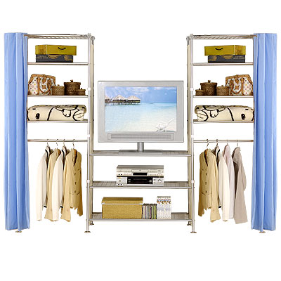 巴塞隆納-W4型60+90+60置物衣櫥架