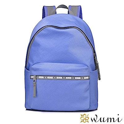 WuMi 無米 繽紛馬卡龍色系後背包 晴空藍