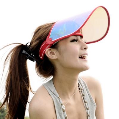 Aimee-Toff-新款七彩渡膜-抗UV400美容面罩-紅