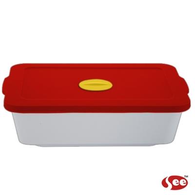 Breere 會呼吸的保鮮盒920ml方形款(4色)