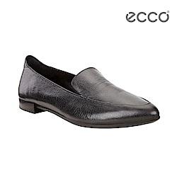 ECCO SHAPE POINTY BALLERINA 尖頭平底樂福鞋-黑