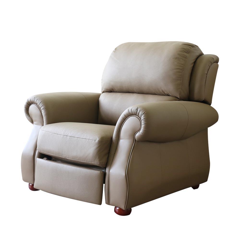 擇木深耕-艾力克多功能機能椅/獨立筒皮沙發椅