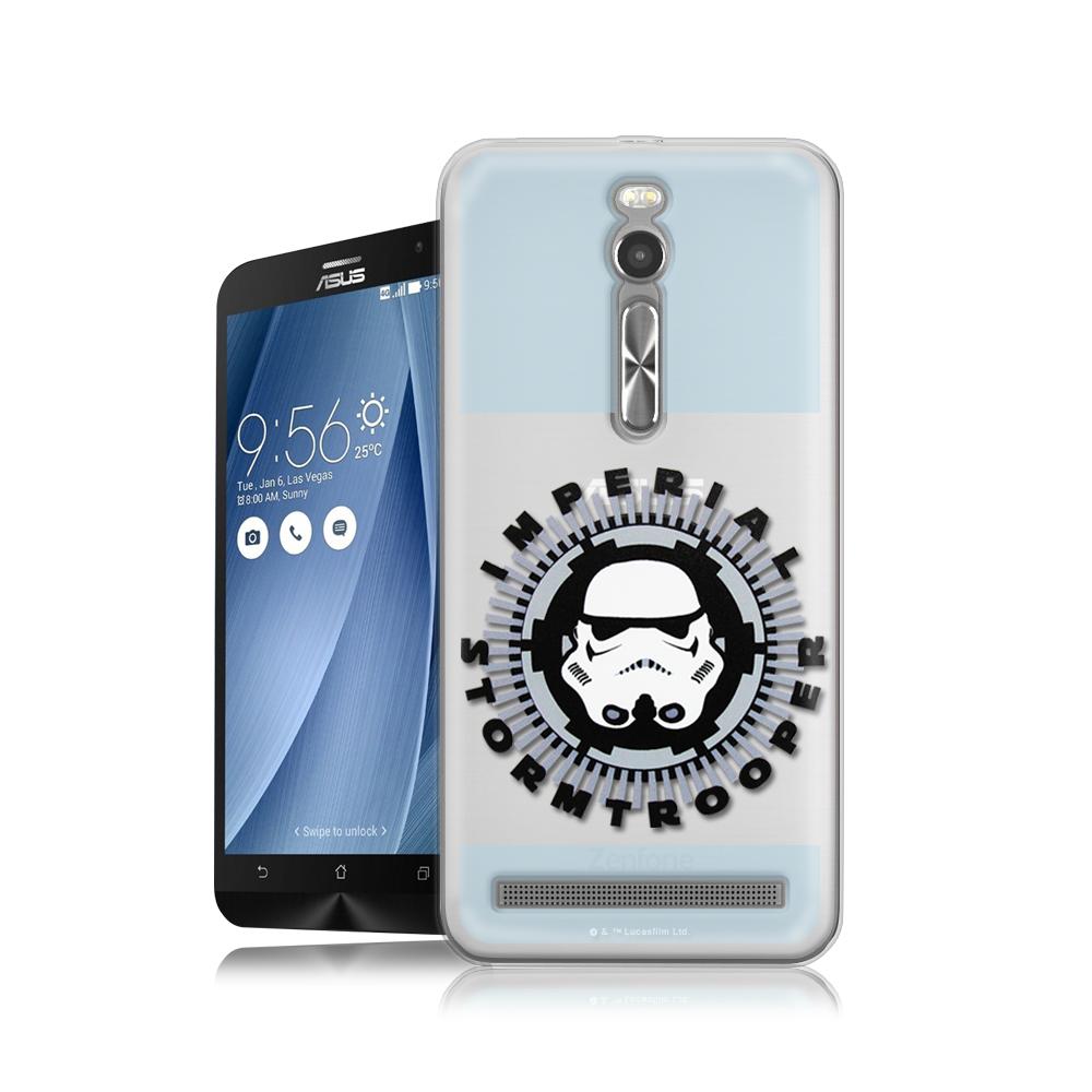 STAR WARS星際大戰  ASUS Zenfone 2 5.5吋 軟式手機殼(白兵頭)