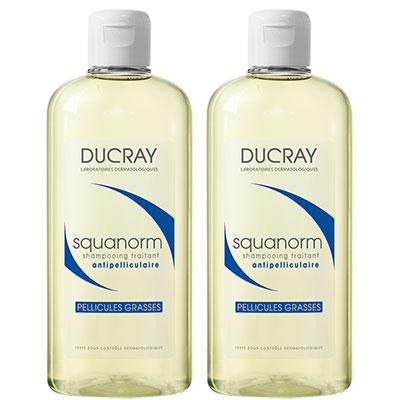 DUCRAY護蕾 K油清屑洗髮精200mlx2