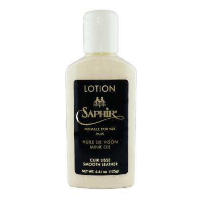 【SAPHIR莎菲爾 - 金質】皮革貂油保養乳-頂級貂油保養乳好推勻