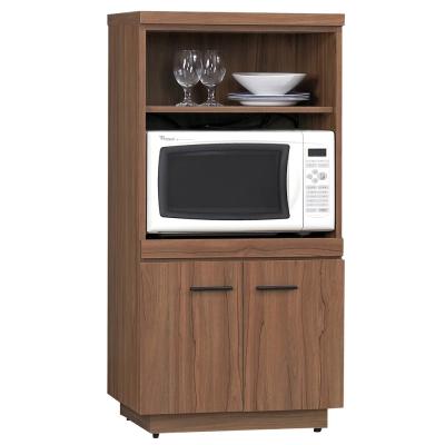愛比家具 堤比2x4尺柚木色餐櫃