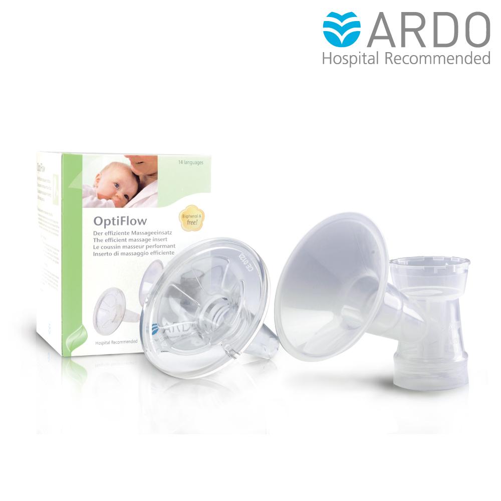 (即期品)ARDO安朵 瑞士OptiFlow按摩軟罩組(含31mm吸乳罩杯)-至2019.10月