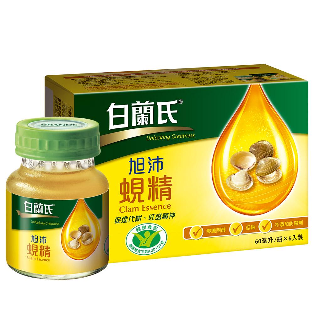 白蘭氏 旭沛蜆精 3盒組(60ml/瓶 x 6瓶 x 3盒)