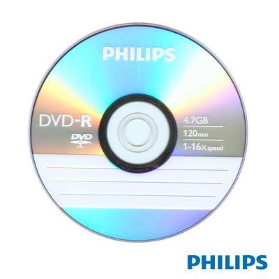 PHILIPS 飛利浦 16X DVD-R 100片
