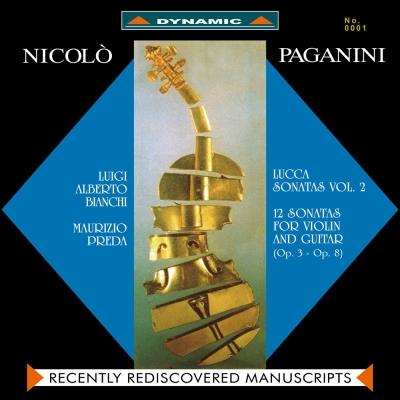魔鬼情人-帕格尼尼:小提琴與吉他奏鳴曲 2LP  (180克限量Vinyl )
