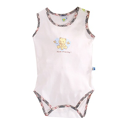 純棉無袖包屁衣 k50621 魔法Baby