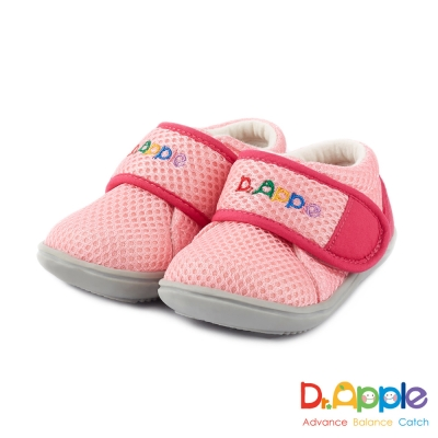 Dr. Apple 機能童鞋 大LOGO馬卡龍色小童鞋款 粉