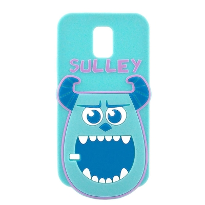 Disney Samsung Galaxy S5 立體造型大頭保護套-毛怪