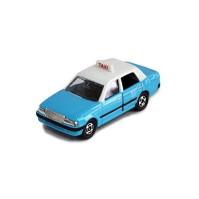 任選 TOMICA 香港計程車 的士BLUE TM45313多美小汽車