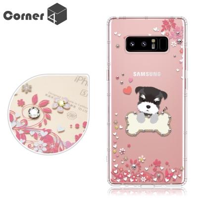 Corner4 Samsung Galaxy Note8 奧地利彩鑽防摔手機殼-...