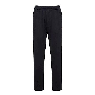 FILA 男吸濕排汗長褲-黑 1PNS-1430-BK