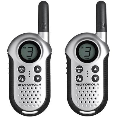 MOTOROLA TLKR T4 免執照無線電對講機 (2支裝) 銀色
