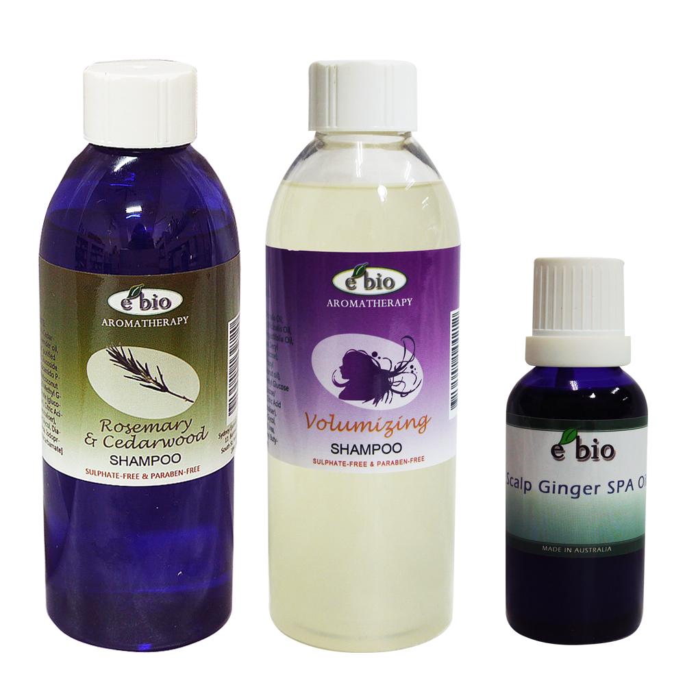 e bio 伊比歐豐盈髮絲洗護3件組