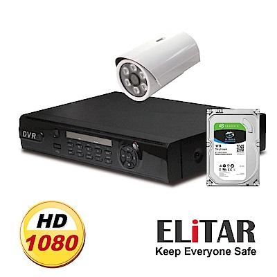 Elitar4路主機1鏡頭Seagate1TB組合
