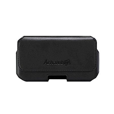 Achamber ZenFone 5Q ZC600KL 真皮旋轉腰掛橫式皮套