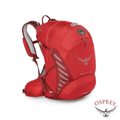 美國-OSPREY-Escapist-32L-專業單車背包-辣椒紅-R