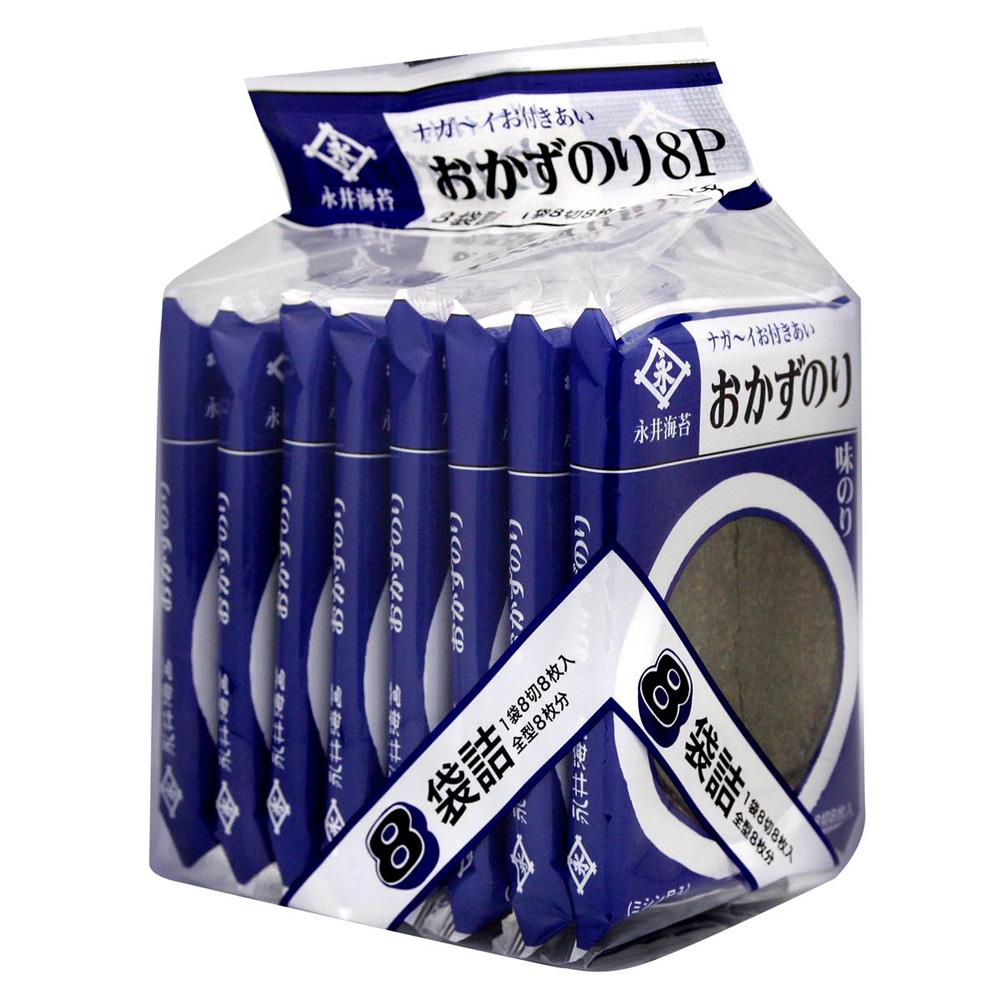 日本東京NAGAI 味付海苔片(8P)