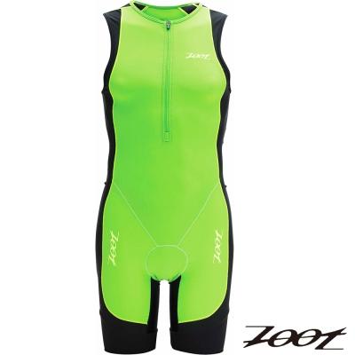 2014 ZOOT專業級肌能連身鐵人衣(男-翠綠) Z1406024三鐵 路跑