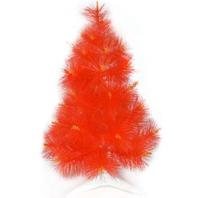 台製2尺(60cm)特級紅色松針葉聖誕樹-裸樹
