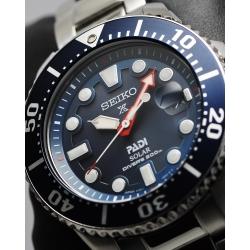 SEIKO Prospex PADI 太陽能潛水200米聯名限量腕錶(SNE435J)-藍水鬼